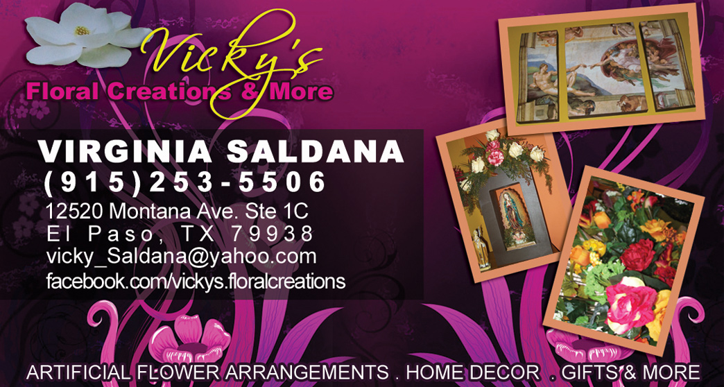 Vicky's Floral creations and more sells home decor and wall decor in El Paso TX